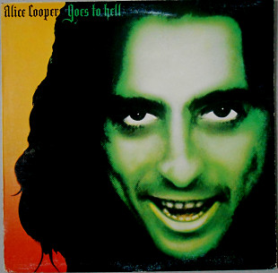 Alice Cooper (2) ‎– Goes To Hell