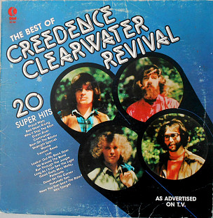 Creedence Clearwater Revival ‎– The Best Of Creedence Clearwater Revival