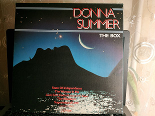 DONNA SUMMER THE BOX 3 LP