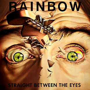 "Rainbow ‎ ""Straight Between The Eyes"" - 1982 - LP."