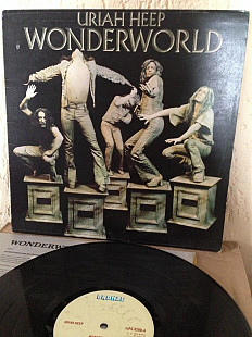 "Пластинка Uriah Heep ‎""Wonderworld"" 1974 Bronze ‎– ILPS 9280 UK Original"