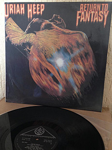 "Пластинка Uriah Heep ‎ ""Return To Fantasy"" 1975(93) SNC Records ‎– ME 2041 Russia"