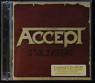 Accept ‎– Stalingrad CD+DVD