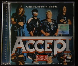 Accept ‎– Classics, Rocks ´n´ Ballads - Hot & Slow