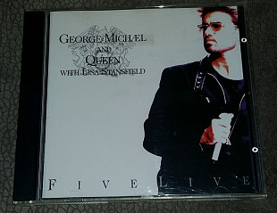 Фирменный George Michael And Queen With Lisa Stansfield - Five Live