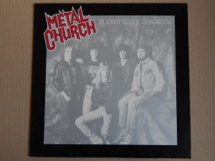 Metal Church ‎– Blessing In Disguise (Elektra ‎– 960 817-1, Germany) EX+/NM-