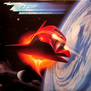 "ZZ Top ‎ ""Afterburner"" - 1985 - LP"