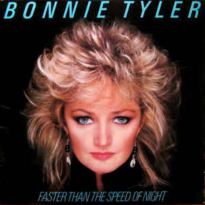 BONNIE TYLER Faster Than The Speed Of Night 1983 USA Columbia NM\NM