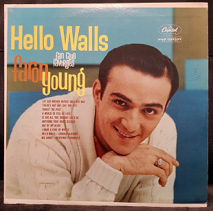 "Faron Young ‎– ""Hello Walls (Fan Club Favorites)"" (US 1961)"
