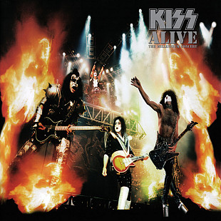 Kiss ‎ (Alive:The Millennium Concert) 2006. (2LP). 12. Vinyl. Пластинки. S/S. Запечатанное. Europe.