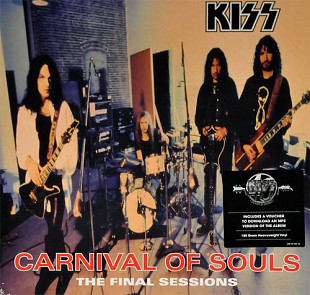 Kiss ‎ (Carnival Of Souls:The Final Sessions) 1997. (LP). 12. Vinyl. Пластинка. S/S. Запечатанное. E