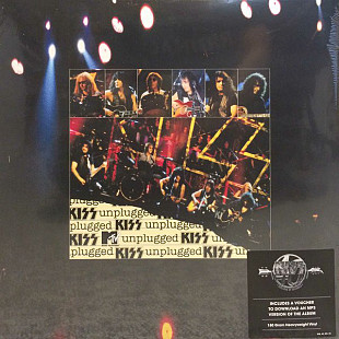 Kiss ‎ (Unplugged) 1995. (2LP). 12. Vinyl. Пластинки. S/S. Запечатанное. Europe.