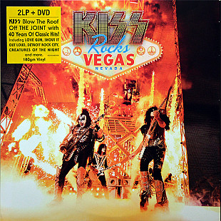Kiss ‎ (Kiss Rocks Vegas) 2014. (2LP+DVD) 12. Vinyl+Disc. Пластинки. Диск. S/S. Запечатанное. Europe