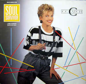 "C.C.CATCH Soul Survivor \ Midnight Gambler (Maxi 12"") 1987 Ger Hansa EX+\EX(+)"