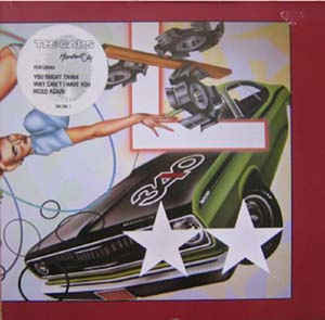 CARS Heartbeat City 1984 Ger Elektra NM-\NM- GF\OIS\2xSticker