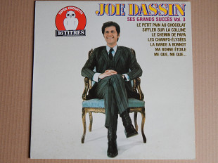Joe Dassin ‎– Ses Grands Succès Vol. 3 (CBS ‎– CBS 54892, Holland) NM-/NM-