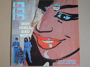 Bad Boys Blue ‎– Hot Girls, Bad Boys (Mega Records ‎– MRLP 3015, Scandinavia) NM-/NM-