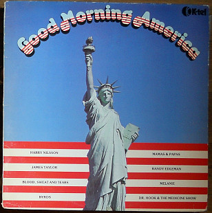 Various ‎– Good Morning America (1980)(made in UK)
