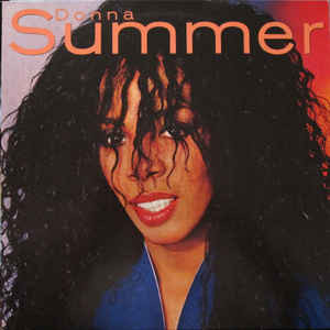 DONNA SUMMER Donna Summer 1982 Ger Warner NM-\NM- OIS\Sticker