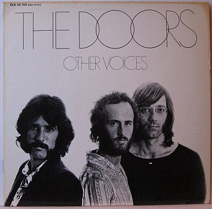 DOORS Other Voices 1971(79) Ger Elektra EX+\NM GF