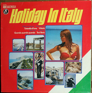 Various ‎– Holiday In Italy ( made in Austria)