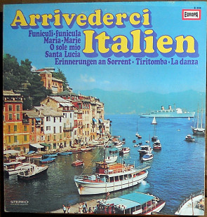 Various ‎– Arrivederci Italien (made in Germany)