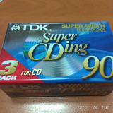 TDK Super CDing 90, Type ll, 3pack LP