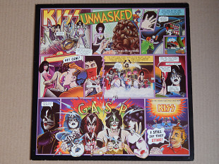 Kiss ‎– Unmasked (Casablanca ‎– 6302 032, Scandinavia) NM-/NM-