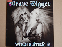 Grave Digger ‎– Witch Hunter (Noise ‎– N 0020, Germany) insert NM-/NM-