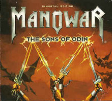 Продам фирменный CD Manowar - The Sons of Odin (2006) - DG - cd + DVD - Limited Edition