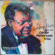 Пластинка Oscar Peterson Trio - Swinging Brass (1961, Verve, USA)