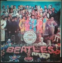 Комплект пластинок The Beatles - Sgt. Pepper's Lonely Hearts Club Band 1967, Revolver 1966 2LP (