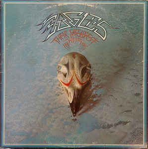 EAGLES Their Greatest Hits 1976 USA Asylum EX+\NM- Embossed