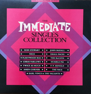 The Immediate Singles collection 2LP (The collector series) Rod Stewart, John Mayall, The Nice, Flee