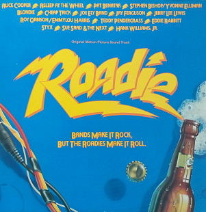 "Original motion picture Soundtrack ""Roadie"" 2LP (Alice Cooper, Pat Banatar, Cheap Trick, Blondie and"