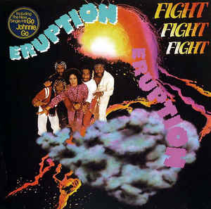 ERUPTION Fight Fight Fight 1980 Ger Hansa EX\NM-