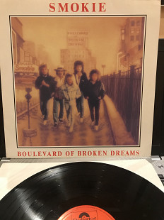 "Пластинка Smokie ‎ ‎‎"" Boulevard Of Broken Dreams """