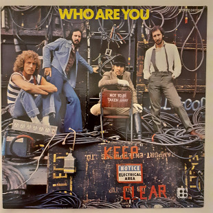 The Who, 1978, GER, NM/NM, 1st