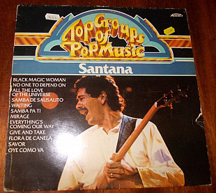 Santana-Top groups of pop music