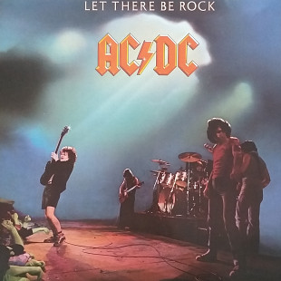"AC/DC ""Let There be Rock "" GER.NM/NM"