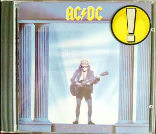 CD AC/DC Who made Who 1986