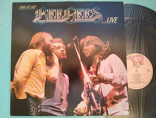 BEE GEES - HERE AT LAST LIVE , 2LP / usa , m-/vg++