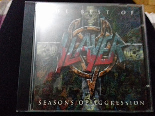 Cd. SLAYER the best of...seasons of aggression. P2000 balkanton