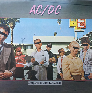 "AC/DC"" Dirty deeds done dirt cheap "" GER.NM/NM"