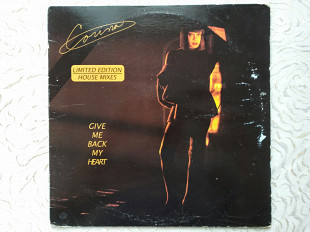 Corina ‎– Give Me Back My Heart (Limited Edition House Mixes) EX/EX
