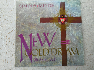 Simple Minds ‎– New Gold Dream (81-82-83-84) EX+/EX+