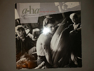 A-ha ‎– Hunting High And Low NM-/EX+ АВТОГРАФЫ
