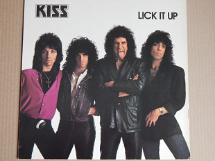 Kiss ‎– Lick It Up (Casablanca ‎– 814 297-1, Germany) insert NM-/NM-