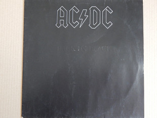 AC/DC ‎– Back In Black (Atlantic ‎– K 50 735, Germany) insert EX+/NM-