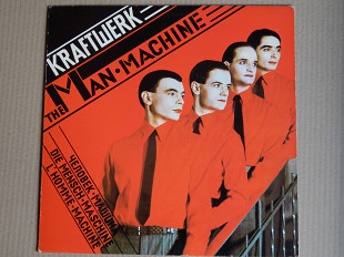 Kraftwerk ‎– The Man•Machine (Capitol Records ‎– 2S 068-85444, France) insert NM-/NM-